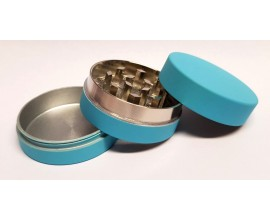 40mm Magnetic Metal Grinder (Single) - 3 Part - Fluorescent Matte Colours - MPG40-MATT