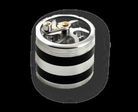 56mm Aluminium Rotary Mill Grinder (Single) - 4-Part - MPG56MG