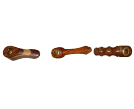 Assorted Mini Wooden Pipes - MWP1