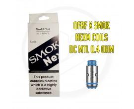 OFRF & SMOK   NexMesh Pod Replacement Coils   0.4 Ohm DC MTL KA1   Pack of 5