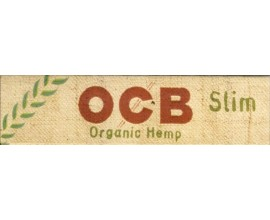 OCB - Organic Hemp kingsize Slim Papers (50) - OCBHEMP