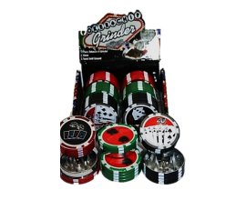 42mm Metal Poker Chip Grinder (Single) - PG1