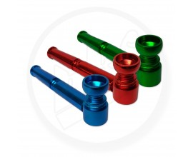 Anodised Metal Pipe | Single | Mixed Colours | PIA224