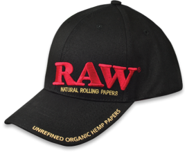 RAW | Black Poker Snapback Hat | 1 x Single