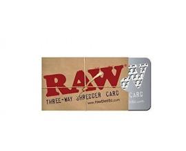 RAW | 3-Way Shredder / Grinder Card | 1 x Single