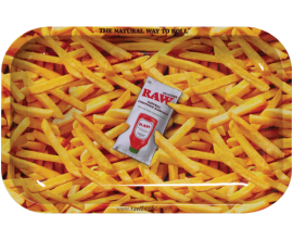RAW | Metal Rolling Trays | FRENCH FRIES | Various Sizes | RAWT-FFRIES