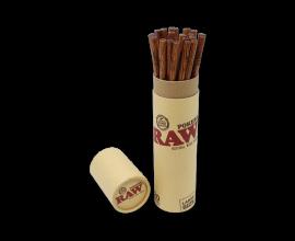 RAW | Natural Wood Pokers | Tube of 50 | RAWPOKER-WOOD