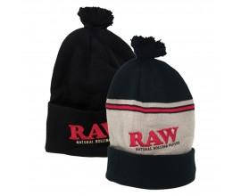 RAW x Rolling Papers | PomPom Bobble Hats | 1 x Single