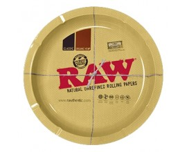 "RAW | Metal Rolling Tray | ROUND (12"" Diameter) | RAWT-ROUND"