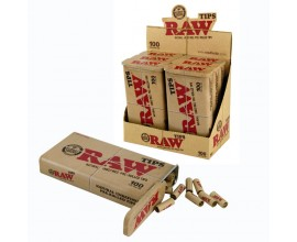 RAW - Pre-Rolled Tips - 100 Tin (Pack of 6) - RAWPRT100