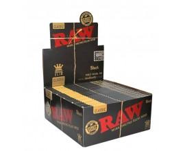 RAW - BLACK King Slims (50) - RAWBKS