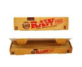 RAW - Classic Kingsize Cones 32 Pack - RAWC32