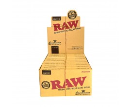 Raw Connoisseur - K/S Classic Papers & Pre-Rolled Tips (24 x 1) - RAWCON4