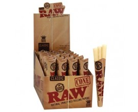 RAW - King Size Cones - 3 Pack (32) - RAWC3