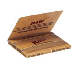 RAW - Single Wide Classic - Double Packs (25) - RAWDSW