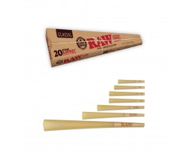 RAW | 20 Stage RawKet Cone Kit | Box of 8 Packs | 20 Cones Per Pack | RAWCKET-20