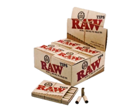 RAW - Pre-Rolled Tips (20) - RAWPRT