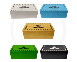 Wooden Rolling Boxes | Medium Size | Mixed Colours | RB2