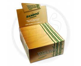 Rizla - Bamboo K/S Slim Rolling Papers (50 x 1) - RIZBAMBOOKS