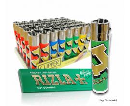Clipper Lighters | Licensed Rizla Design | Tray of 40