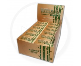 Rizla | Bamboo 4m Paper Rolls | Pack of 24