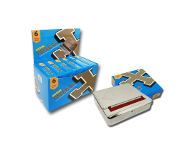 Rizla | Embossed Automatic Rolling Boxes | Tray of 6