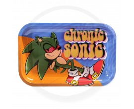 Smoke Arsenal Rolling Tray - LARGE (28cm x 18cm) - CHRONIC SONIC