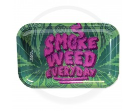 Smoke Arsenal Rolling Tray - LARGE (28cm x 18cm) - SMOKE WEED EVERY DAY