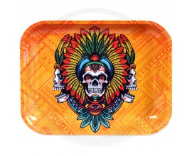 Smoke Arsenal Rolling Tray - XL (34cm x 27.5cm) - TRIBAL KUSH