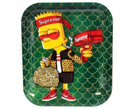 Smoke Arsenal Rolling Tray - XL (34cm x 27.5cm) - SUPREME BART