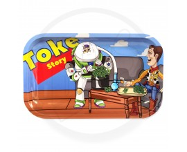Smoke Arsenal Rolling Tray - LARGE (28cm x 18cm) - TOKE STORY