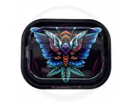 Smoke Arsenal Rolling Tray - SMALL (18cm x 14cm) - BUTTERFLY