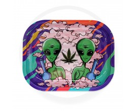 Smoke Arsenal Rolling Tray - SMALL (18cm x 14cm) - OUTTA THIS WORLD