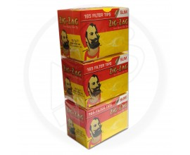 Zig Zag - SLIM Filter Tips - 3 x Packs of 165 Loose Tips - ZZSF-165L