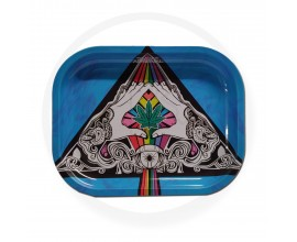 Smoke Arsenal Rolling Tray - SMALL (18cm x 14cm) - ALL SEEING EYE
