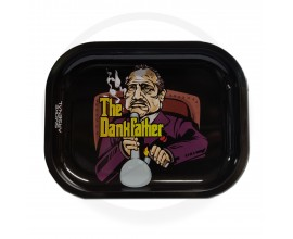 Smoke Arsenal Rolling Tray - SMALL (18cm x 14cm) - DANKFATHER