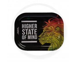 Smoke Arsenal Rolling Tray - SMALL (18cm x 14cm) - HIGH STATE OF MIND