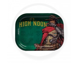 Smoke Arsenal Rolling Tray - SMALL (18cm x 14cm) - HIGH NOON