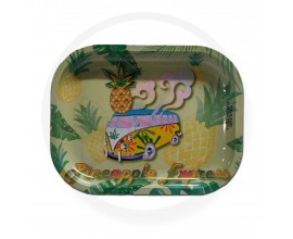 Smoke Arsenal Rolling Tray - SMALL (18cm x 14cm) - PINEAPPLE EXPRESS