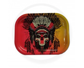 Smoke Arsenal Rolling Tray - SMALL (18cm x 14cm) - ROOTS