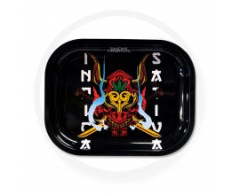 Smoke Arsenal Rolling Tray - SMALL (18cm x 14cm) - STONED WARRIOR