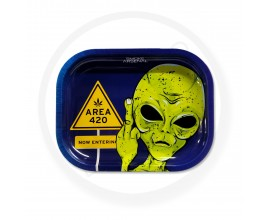 Smoke Arsenal Rolling Tray - SMALL (18cm x 14cm) - AREA 420