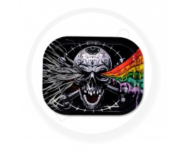 Smoke Arsenal Rolling Tray - SMALL (18cm x 14cm) - STONED SKULL