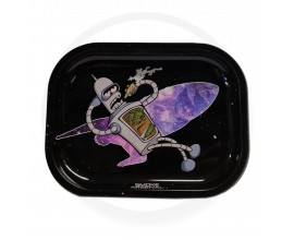 Smoke Arsenal Rolling Tray - SMALL (18cm x 14cm) - SPACE BENDER