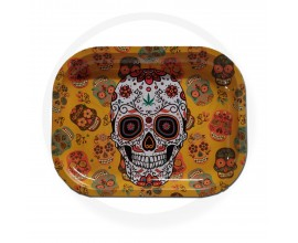 Smoke Arsenal Rolling Tray - SMALL (18cm x 14cm) - SUGAR SKULL