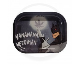 Smoke Arsenal Rolling Tray - SMALL (18cm x 14cm) - WEEDMAN