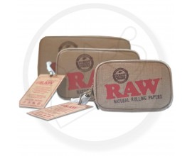RAW | Smell Proof Smoker's Pouch with 5 Layer Odour Protection | 1 x Single | Various Sizes