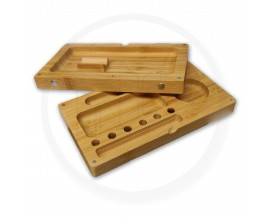 Sparkys Magnetic Wooden Rolling Flip Tray | 1 x Single | RWT-SPARKY