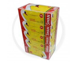 SWAN | Kingsize Cigarette Tubes | 5 Packs | 100 Tubes Per Pack | SWANTUBE-KING