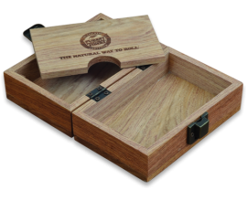 RAW | Classic Wooden Storage Box | 1 x Single | RAWBOX